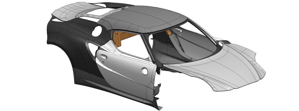 Alfa Romeo C Composite Body Panels - Alfa romeo body panels